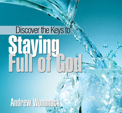 Discover The Keys To Staying Full Of God - CD Album