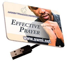 Effective Prayer - MP3 USB Drive