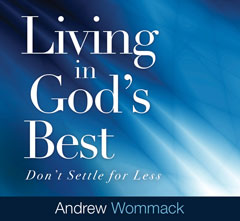 Living In God's Best - CD Album