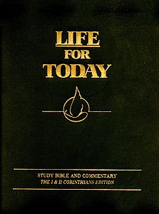 Life for Today 1 & 2 Corinthians Edition