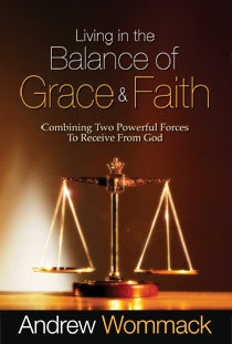 Living In The Balance Of Grace And Faith - Book