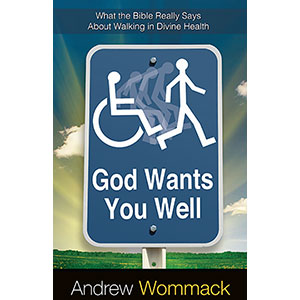 God Wants You Well - Book