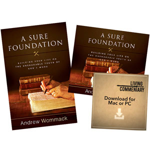 A Sure Foundation - Package, DVD Version