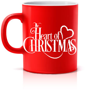 Red Mug - Heart Of Christmas