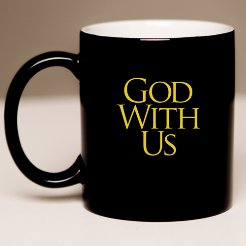 Black Mug – God With Us