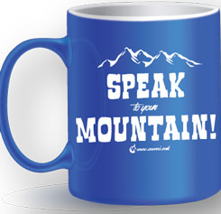 Blu Mug – Speak to Your Mountain