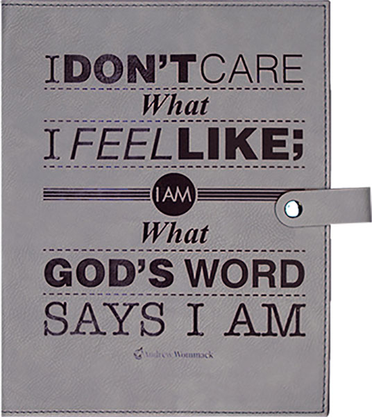 Gray Bible Cover -