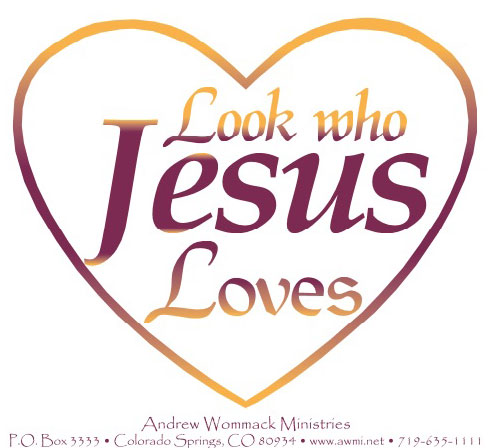 Look Who Jesus Loves Sticker