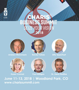 Charis Business Summit 2018 USB Set