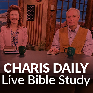 Offering: CHARIS DAILY Live Bible Study